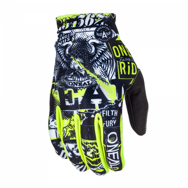 oneal_matrix_attack_youth_glove_black|oneal